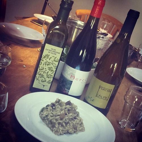 Risotto, olijfolie en wijn #lww #atastaffair
