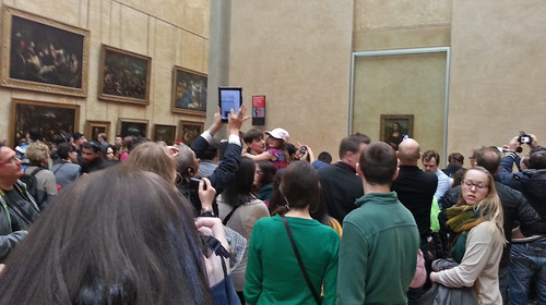 Viewing the Mona Lisa