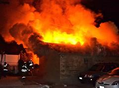 LAFD Stomps Valley Village Garage Fire