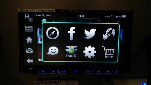 Application ต่างๆ ที่ใช้งานบน Pioneer AVH-X8650BT ได้