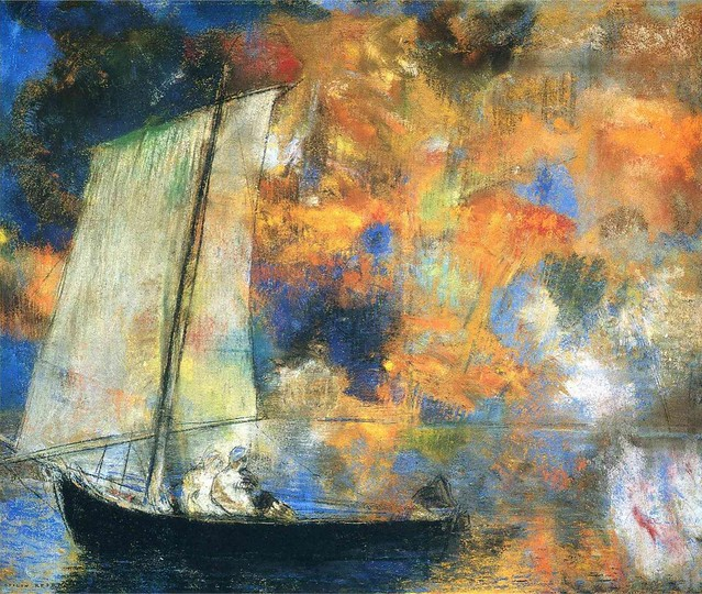 Flower Clouds by Odilon Redon, Circa 1903