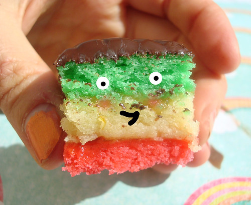 How to make NYC style rainbow cookies