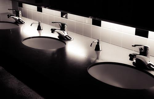 ladies sunset bw church southdakota creek sunrise tile bathroom rocks unitedstates womens sd tiles faucets lavatory rapidcity fossils badlandsnationalpark basins
