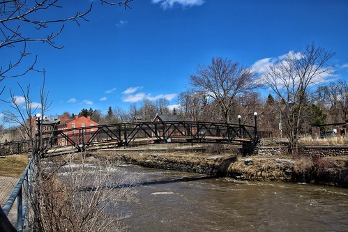 park travel bridge ontario port river walking foot hope hotel centennial town downtown tour view scenic tourist historic r tavern historical rotary attraction on ganaraska onasill
