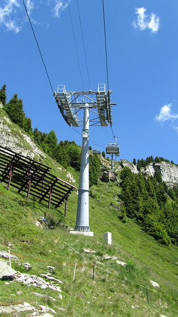 Chair lift to Hohfluh