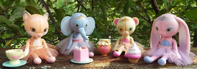 mini mooshka  fairytales friends :)