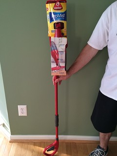 O-Cedar ProMist Microfiber Spray Mop product review