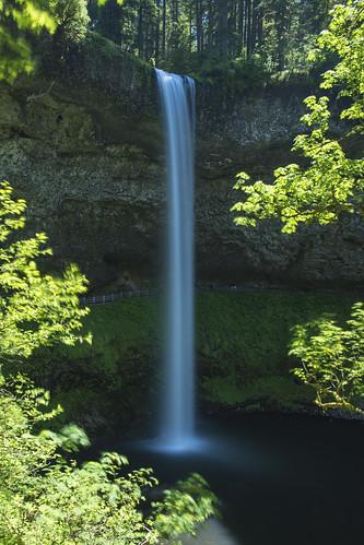 longexposure green oregon waterfall silverfallsstatepark southfalls summser 177ft
