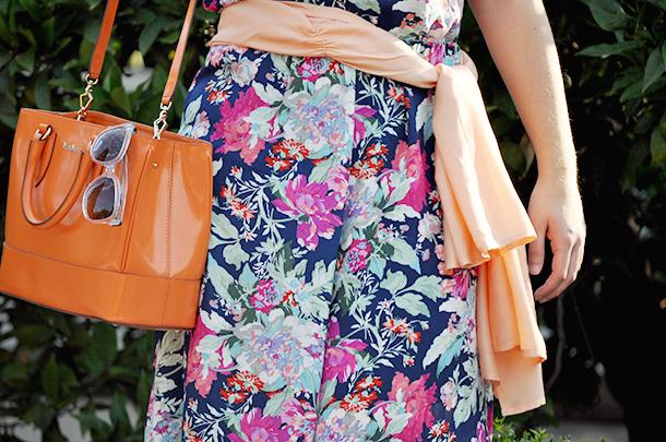 manolita faldotas floral mono jumpsuit valencia spain fashion blogger, rondine tote bag maxmara orange,JH ibiza jannine helbling modajannine emerging designers, jardin de las hesperides somethingfashion
