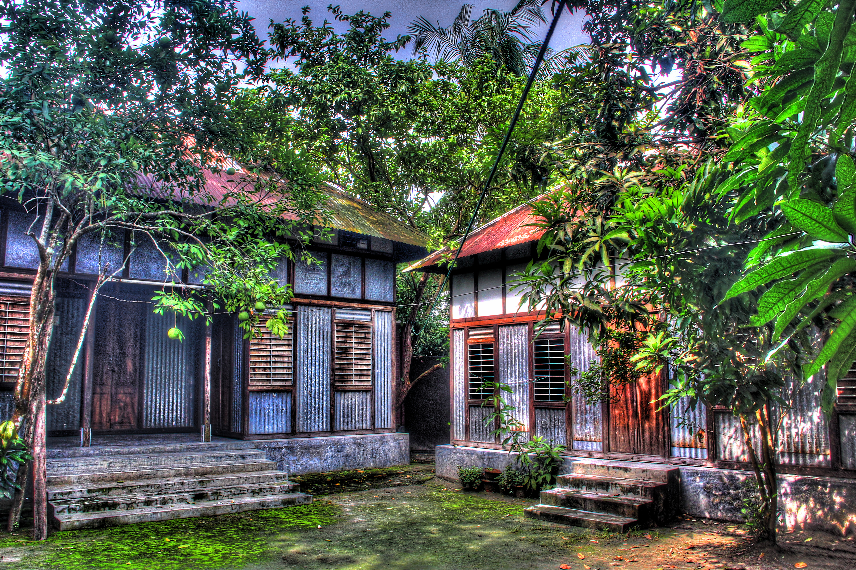 Traditional village homes in bangladesh flickr photo for Bangla house photo