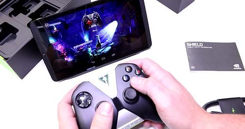 Nvidia Shield Tablet prise en main