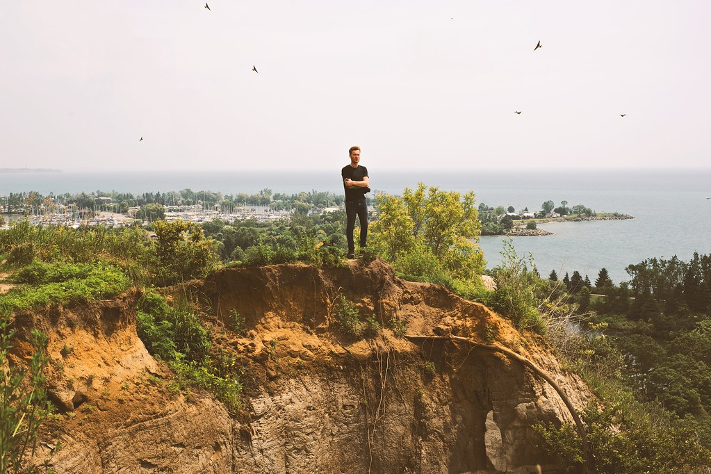 Shane at Scarborough Bluffs