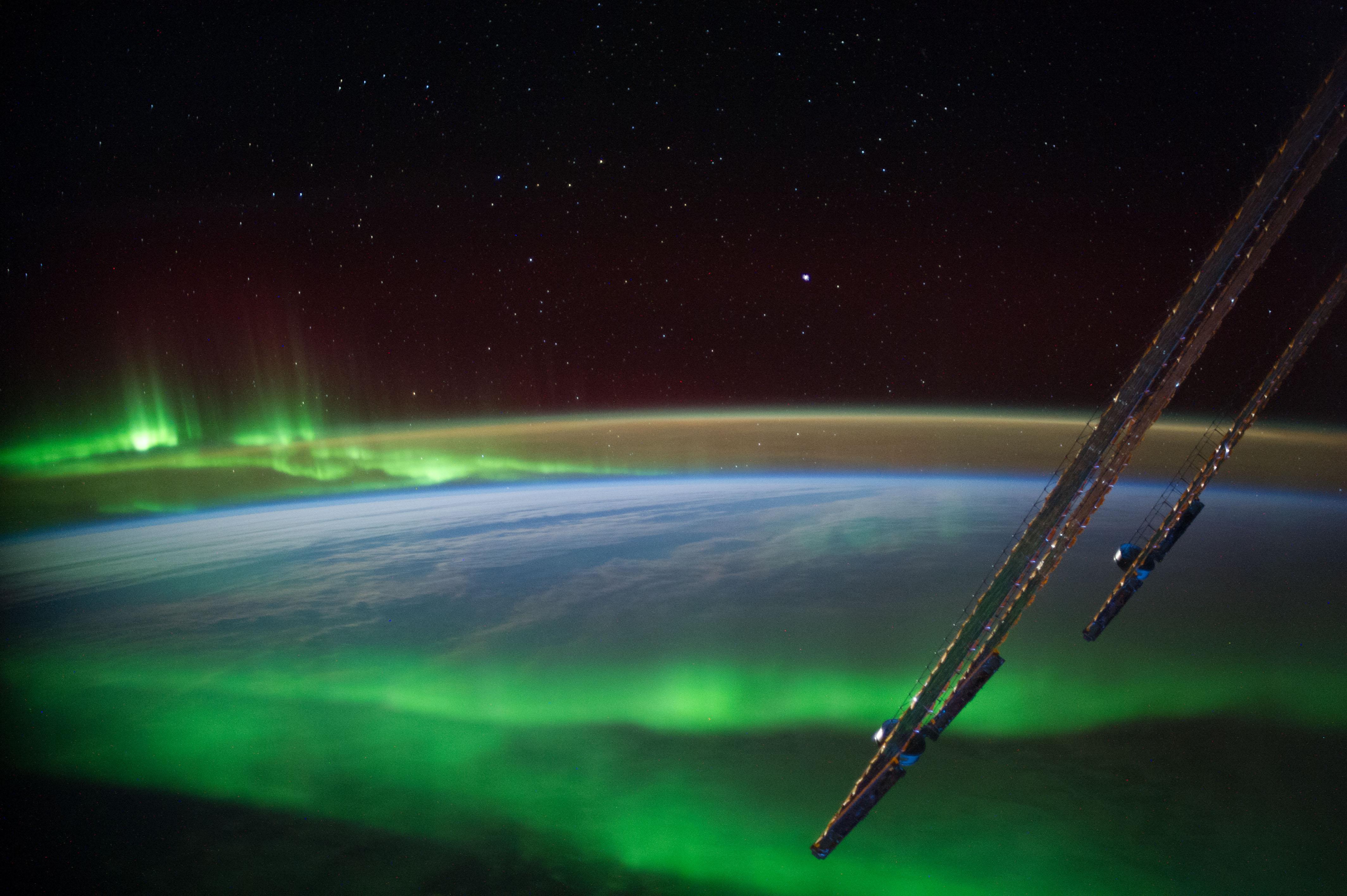 Aurora Near Australia (NASA, International Space Station ...