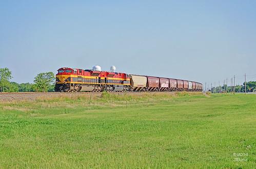 railroad train texas locomotive ponder curve kcs sd70ace
