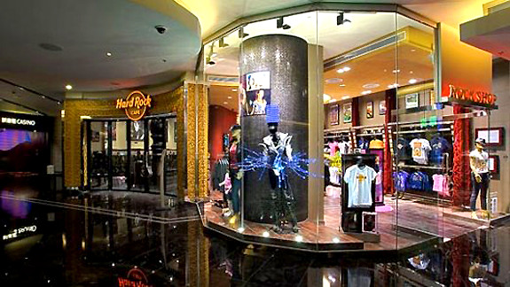 Hard Rock Cafe store