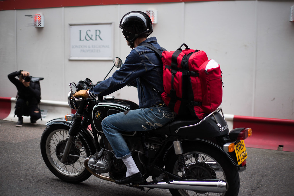 Street Style - Biker, London Collections: Men