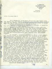 079. Habsburg Ottó levele Bakáts-Bessenyey György bárónak a magyarországi és a kelet-európai változásokról