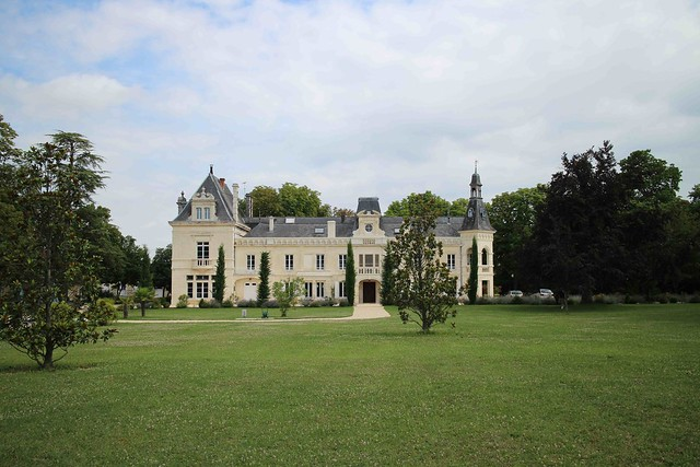 Académie Balzac - le château de Brillac