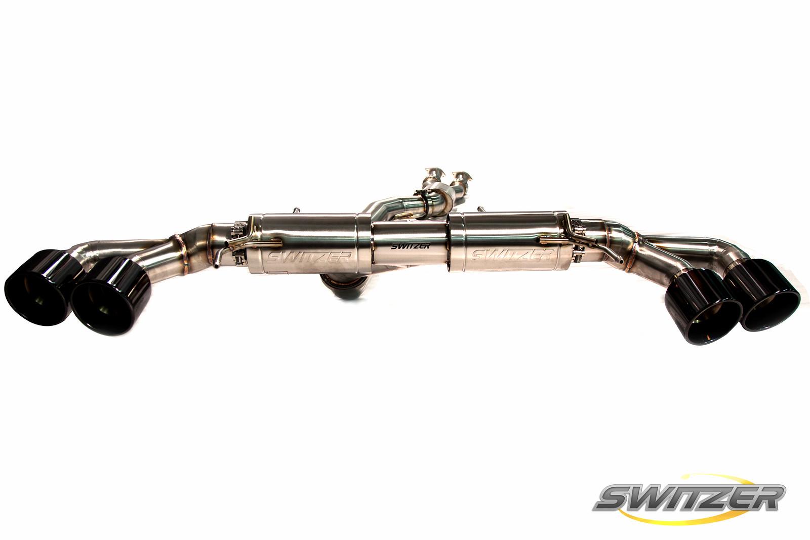 Switzer Gtr Exhaust Steel Exhaust For R35 Gtr