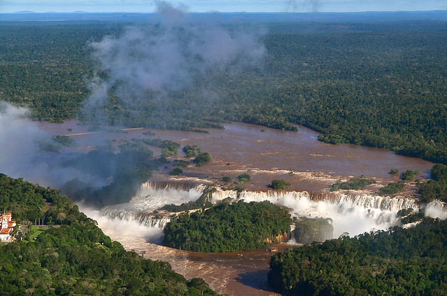 Panorámica de las Cataratas de Iguazú