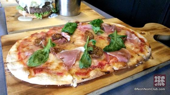 Prosciutto-Figs-Arugula-Flat-Bread