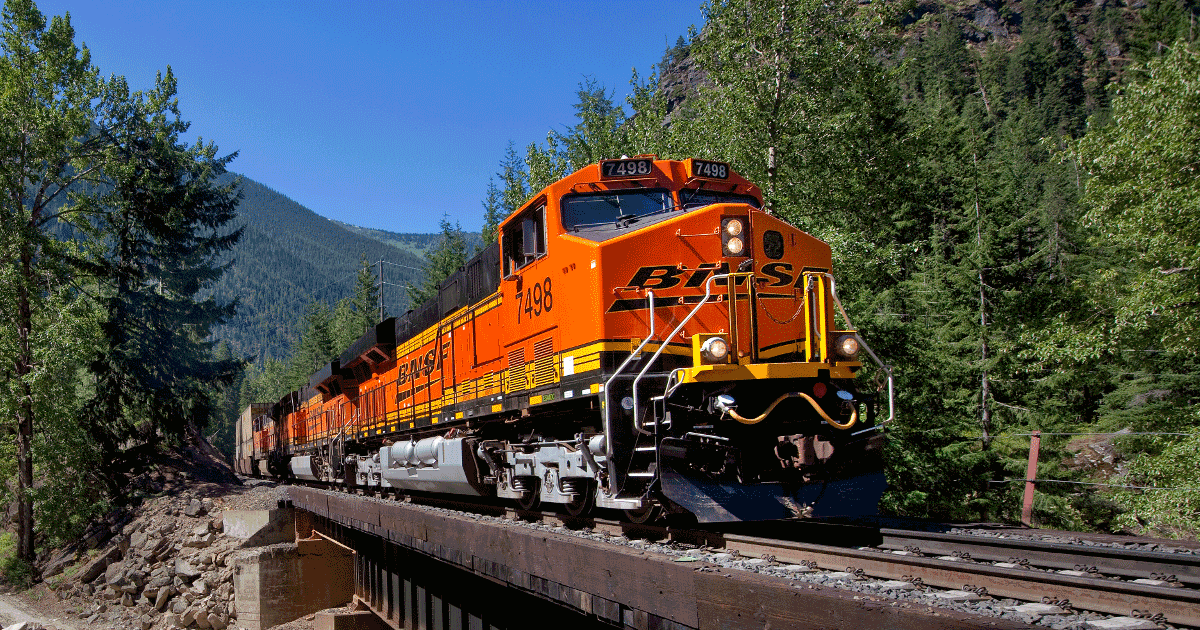 BNSF - Burlington Northern Santa Fe Railway