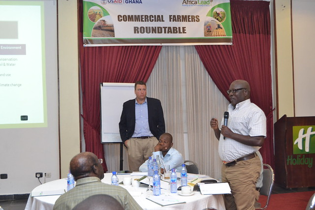 Commercial Farmers Roundtable, June 2014-Discussion Session