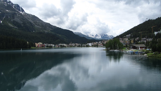 The Lake at St. Moritz