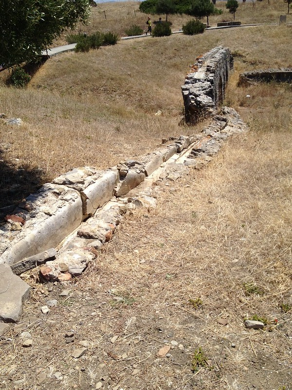 The remnants of the East Aqueduct
