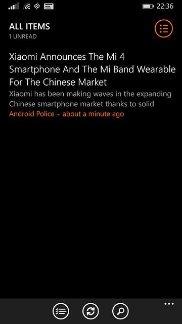 Nokia Lumia 930 - Nextgen Reader