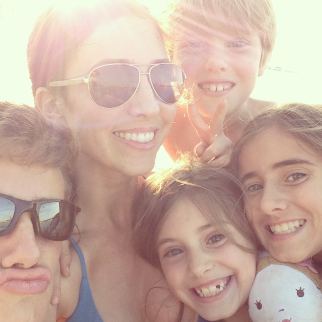 summer seleta and kids