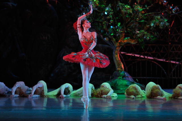 Yulia Stepanova in The Firebird © Photo by Valentin Baranovsky 2014