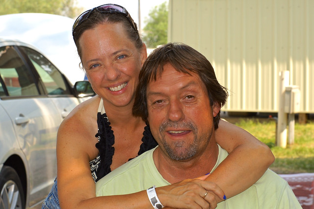 Natalie and George