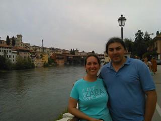 Prima nota di viaggio - Gli sposi a Bassano del Grappa