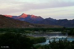 Orange river in Richtersveld Transfrontier Park (Namibia-South Africa)