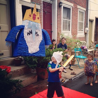 Ice King pinata!