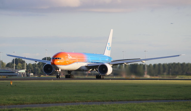 KLM Royal Dutch Airlines Boeing 777-300