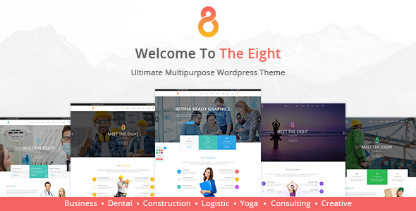 The8 v1.0.7 - Corporate, Business WordPress theme