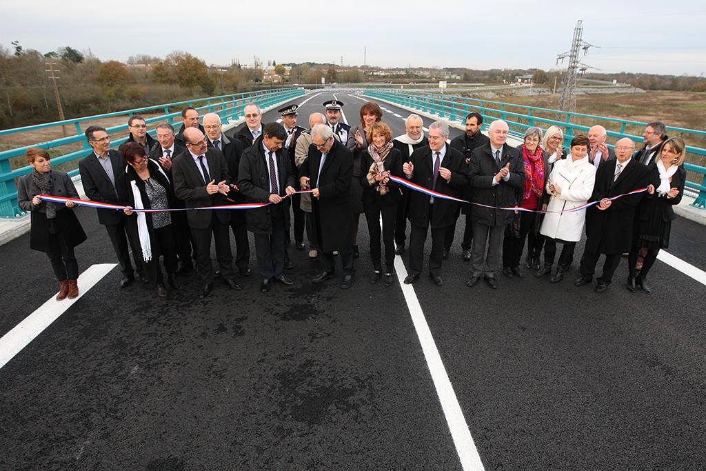 2014 - Inauguration du contournement Est de Dax