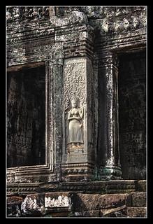 Siem Reap K - Bayon relief 01