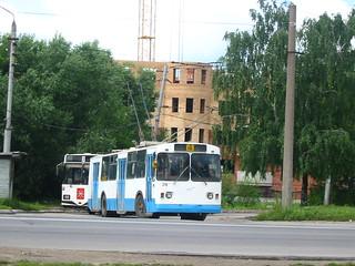 Tula trolleybus 74 ЗиУ-682, withdrawn 2004