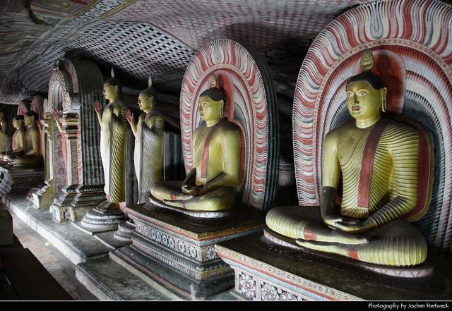Dambulla Cave Temple, Dambulla, Sri Lanka