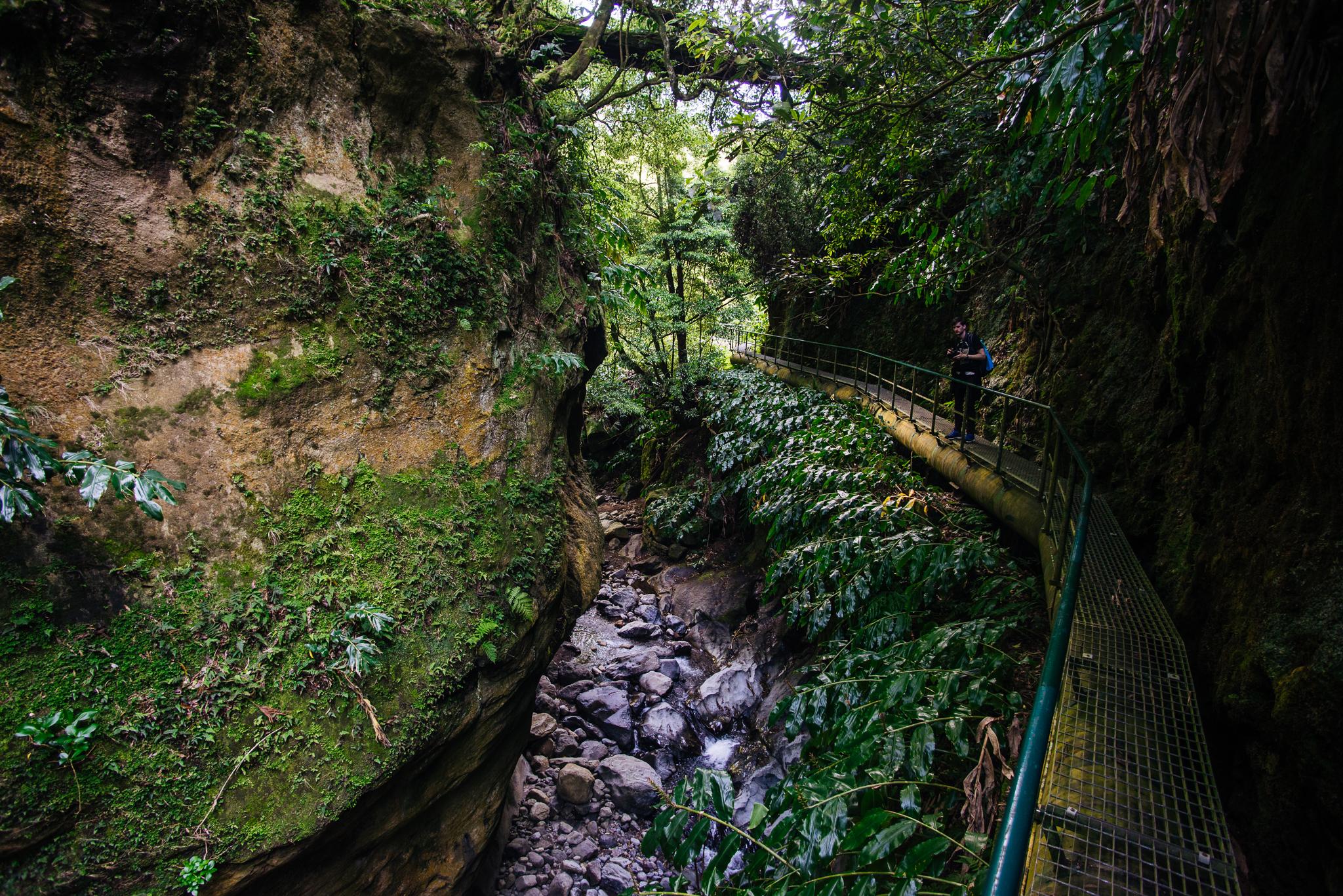 Salto do Cabrito túraúvtonal az Azori-szigeteken.