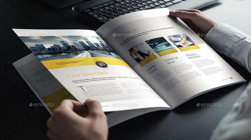 PSD Mockup Brochure - PSD Mockup Brochure – Tạp Chí