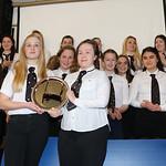 Girls Trophy Presentation & 1st XV v Ardrossan