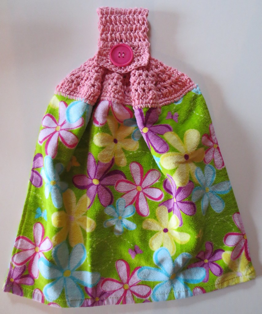 Easter Towel Topper | My Recycled Bags.com