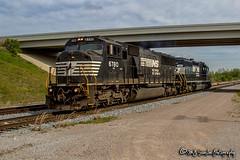 NS 6780   EMD SD60M   NS Rossville Yard