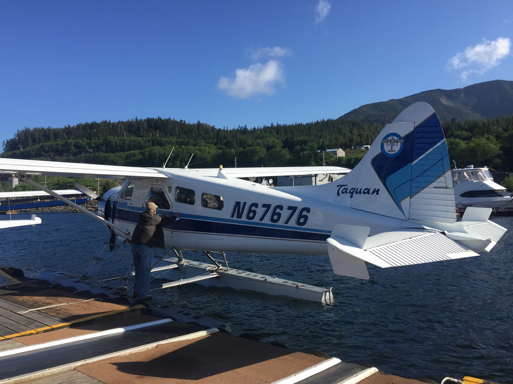 Seaplane in Ketchikan