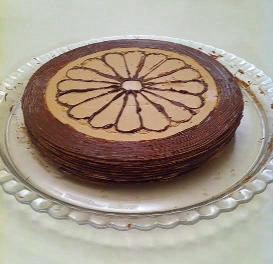 tarta obleas