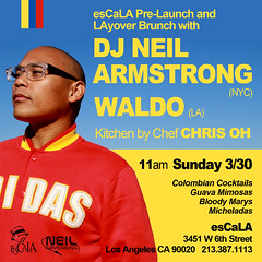 3/30 - Sunday - I have a Layover in LA, come eat  with me for the Pre-Launch of esCaLA